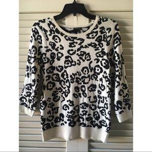 Leopard Print Ann Taylor Sweater